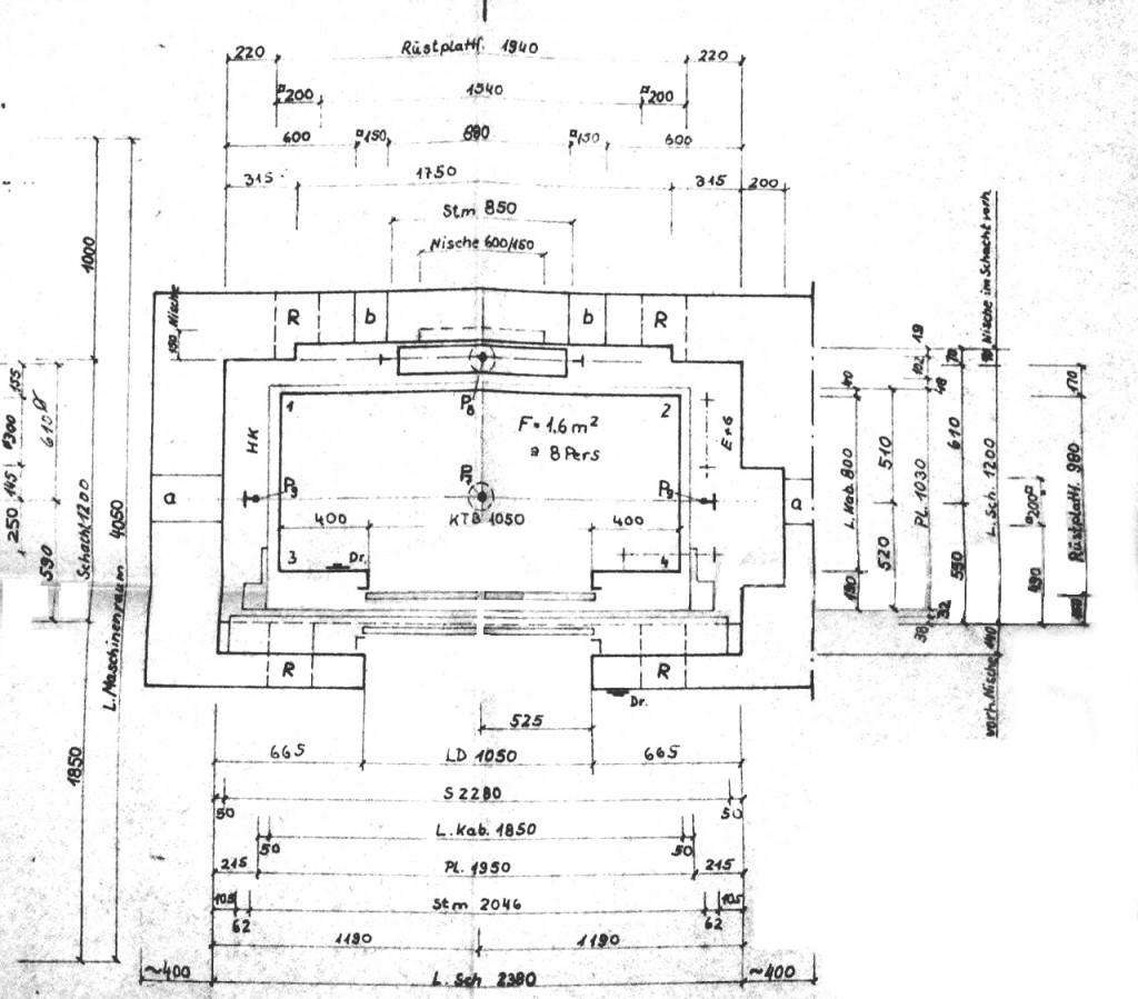 Rathaus Schachtgrundriss 47NE9478 West